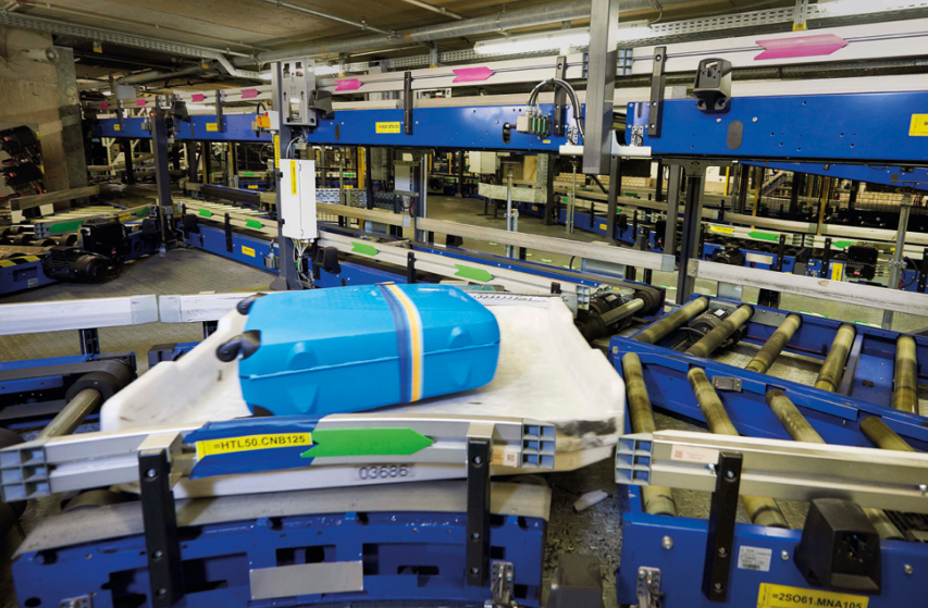 Automated Airport Baggage Handling