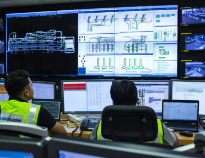 BEUMER Group Demonstrate Live BHS Control Room at Inter Airport 2019