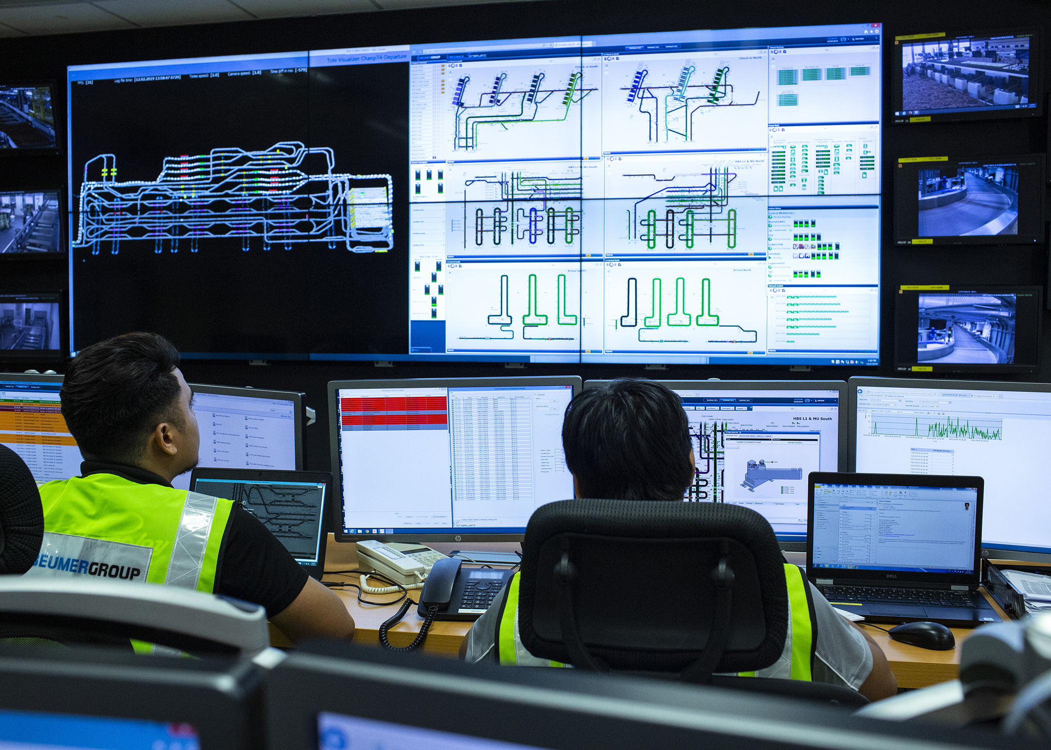 BEUMER Group Demonstrate Data-Driven Efficiency with Live BHS Control Room at Inter Airport 2019