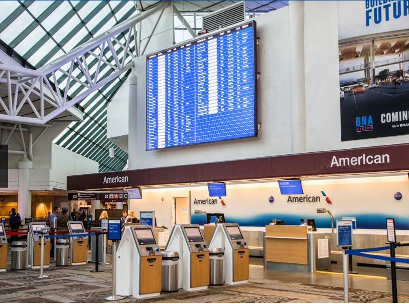 Daktronics Equipment, Nashville International Airport