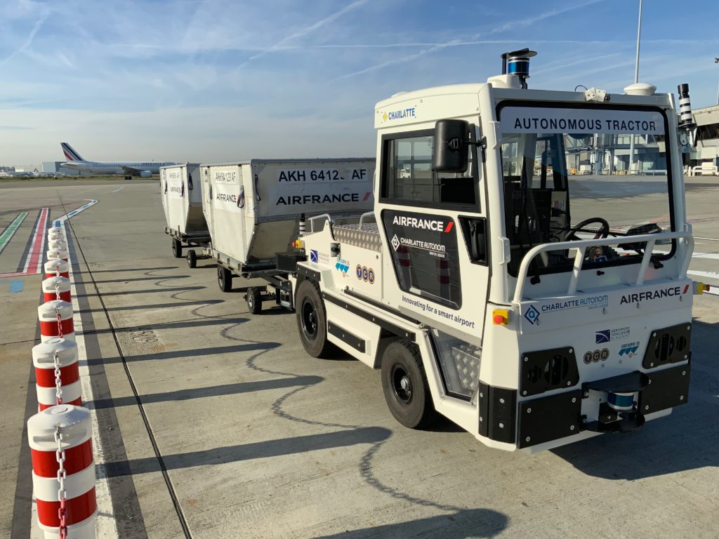 Autonomous Baggage Tractor