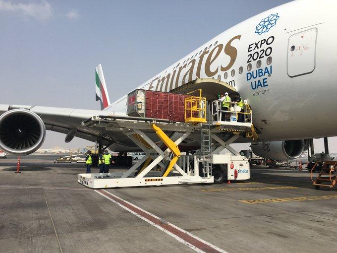 TLD TXL-838-reGen loader in Dubai International Airport