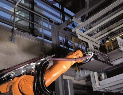 Vanderlande BAGLOAD Integrated Robot Loading