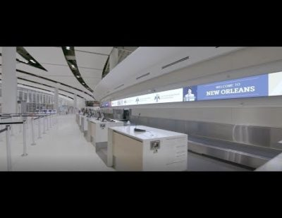 Aecom Completes Work on Louis Armstrong International Airport's (MSY) New Terminal