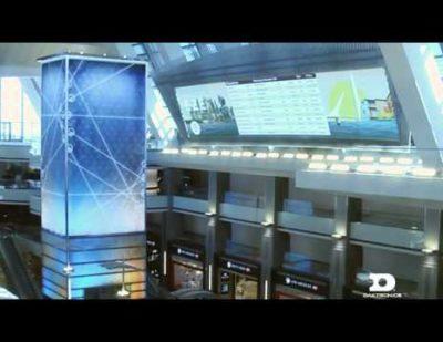 Daktronics Time Tower / Destination Board at LAX