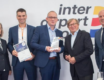 Vanderlande's BAGFLOW Wins Prestigious Award at Inter Airport Europe 2019