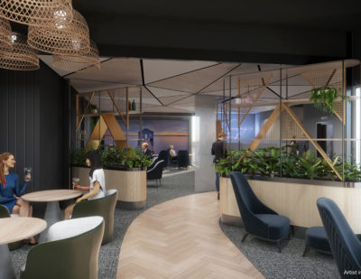 Construction for New Aspire Lounge Begins at Perth Airport