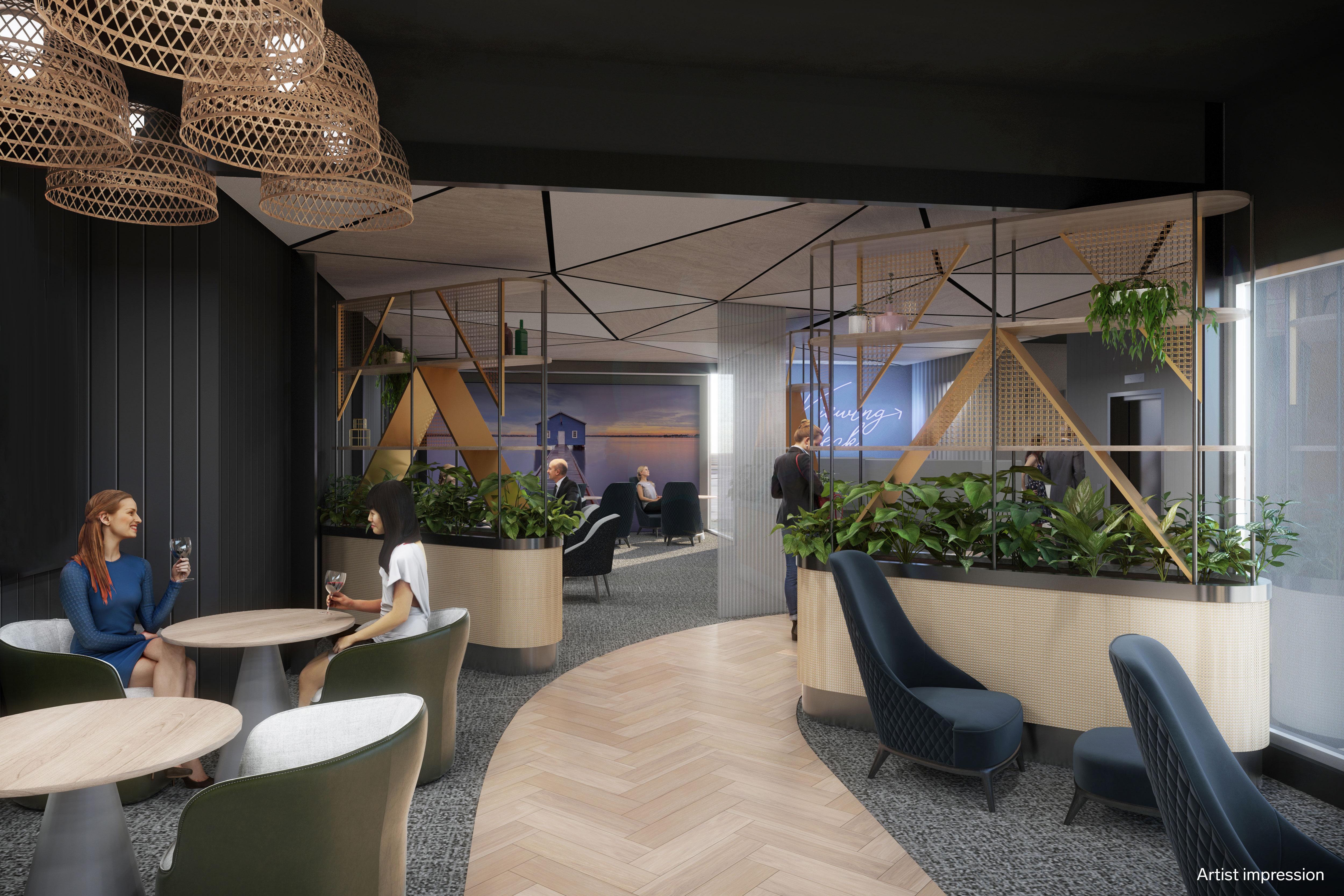 Swissport Aspire Lounge Perth