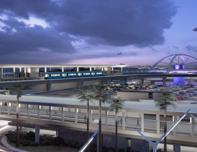 APM Project Gets Off the Ground at LAX