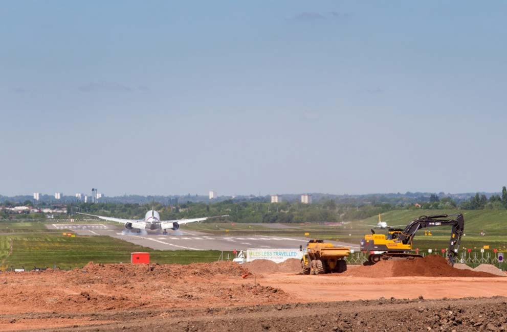 A45 Corridor Improvements at Birmingham Airport