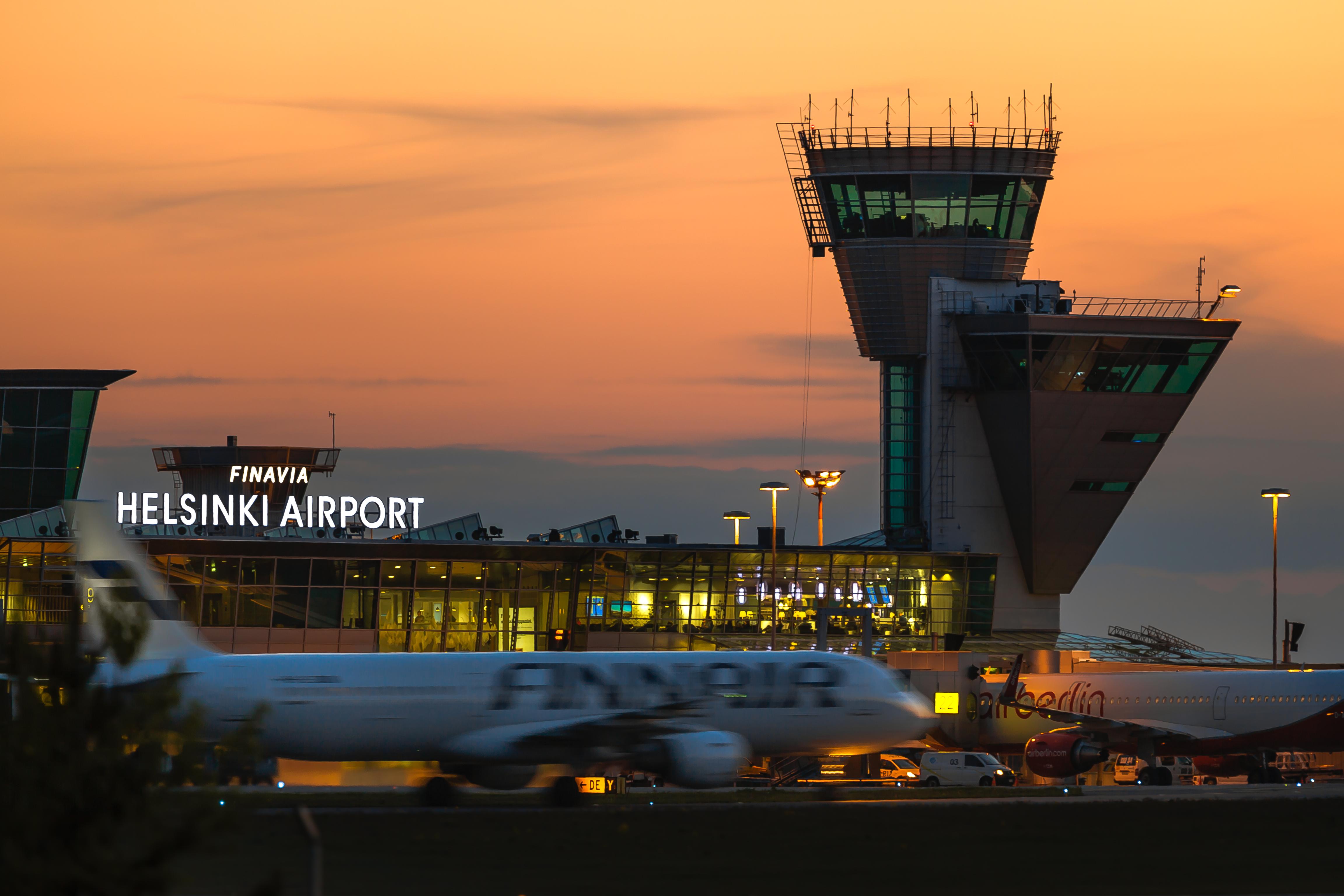 Finavia Helsinki Airport exterior