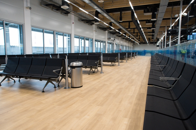 Pier 1 Budapest Airport - the new boarding hall