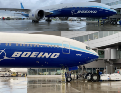 Boeing 777X Roll-Out for Maiden-Flight