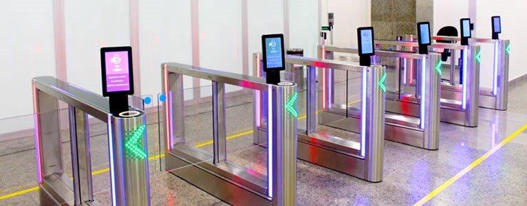 SITA self service gates for Fraport Brasil