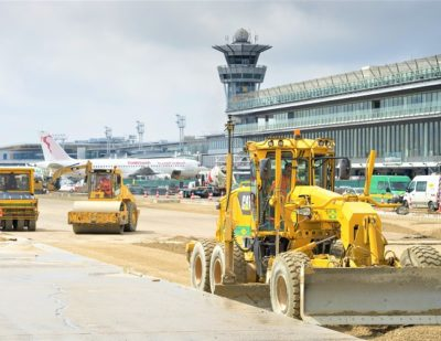 UK Team Collaborate With Colas France On Runway Renovation