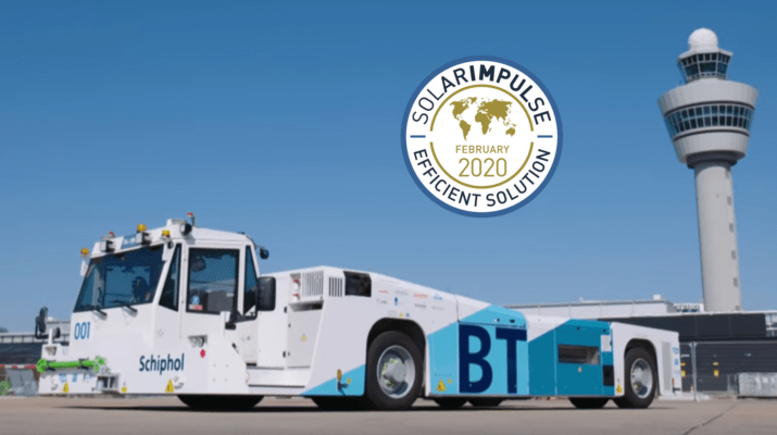 Taxibot Semi-Robotic Towing Tractor to Trial at Schiphol Airport