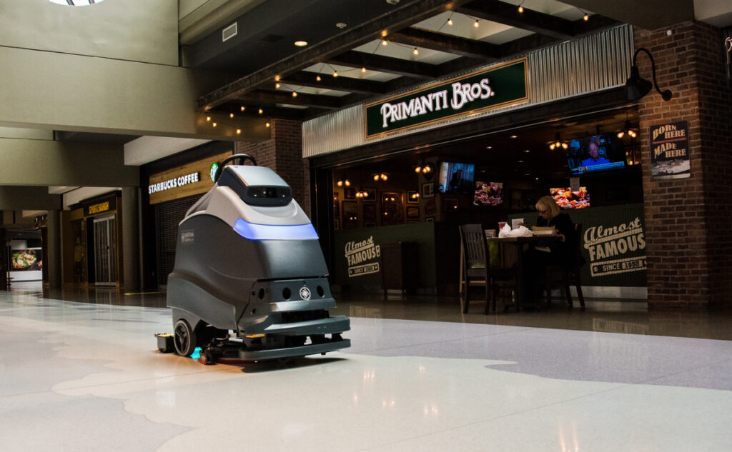 Pittsburgh International Airport to Use Autonomous Robotic Cleaners