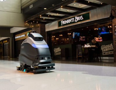Pittsburgh International Airport to Use Autonomous UV Robotic Cleaners