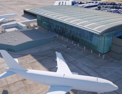 New Baggage Sorting Hall under Construction at Budapest Airport