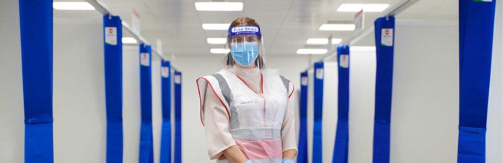 cover heathrow testing facility