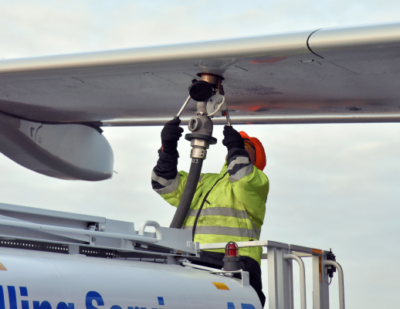 Sustainable Aviation Fuel Tanked at Stockholm Arlanda