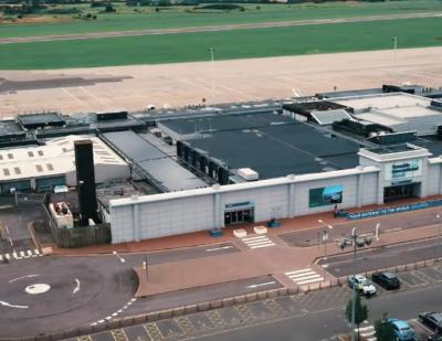 Major Upgrades under Way at Teesside Airport Arrivals Hall