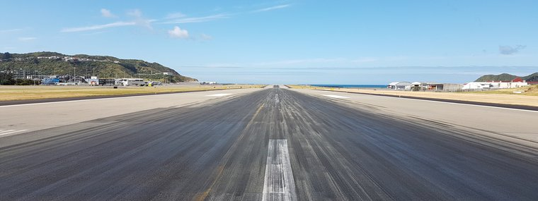 wellington runway project
