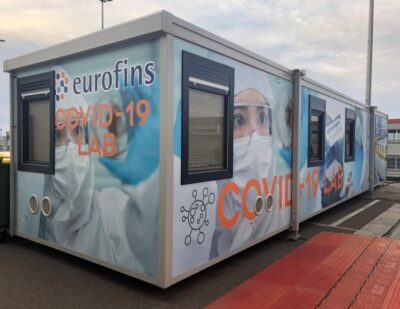 Mobile COVID-19 Laboratory at Brussels Airport Operational