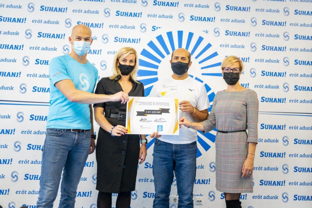 Budapest donates suhanj
