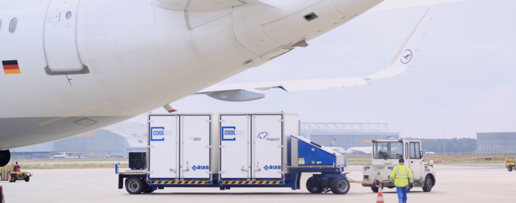 Fraport temperature transporters