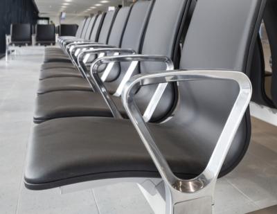 Schiphol's 'Blink' Seating System Shortlisted for Dezeen Award