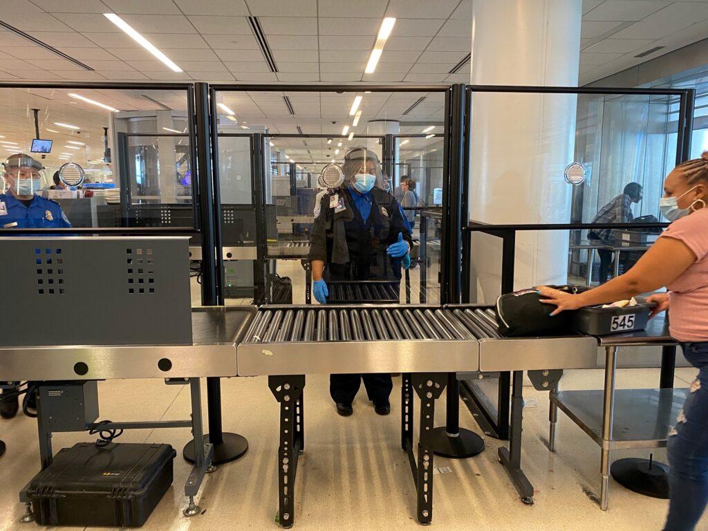 Acrylic Shield Airport