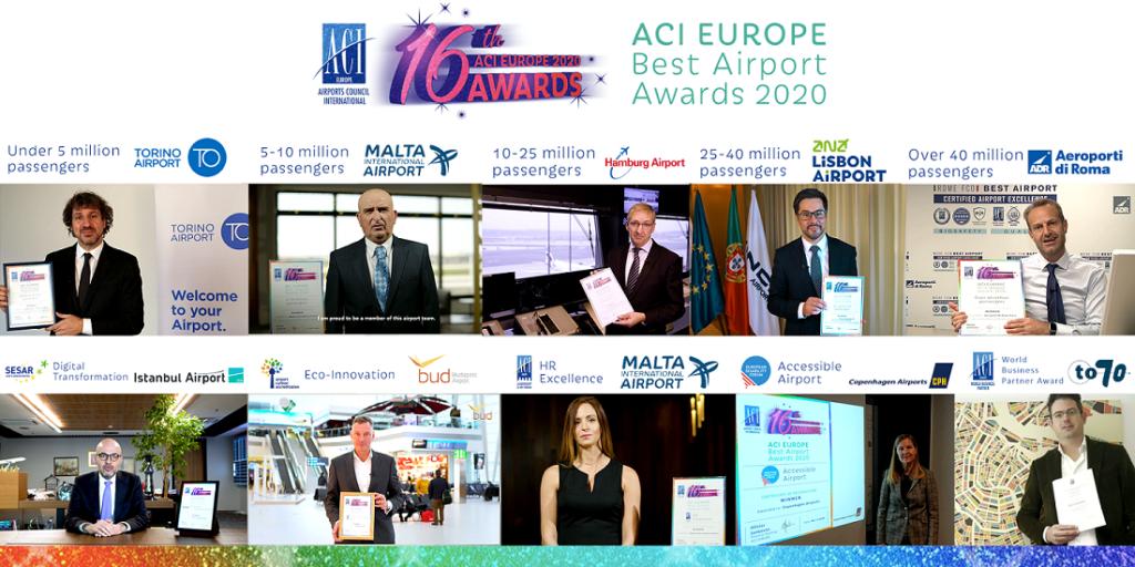 aci best airport award