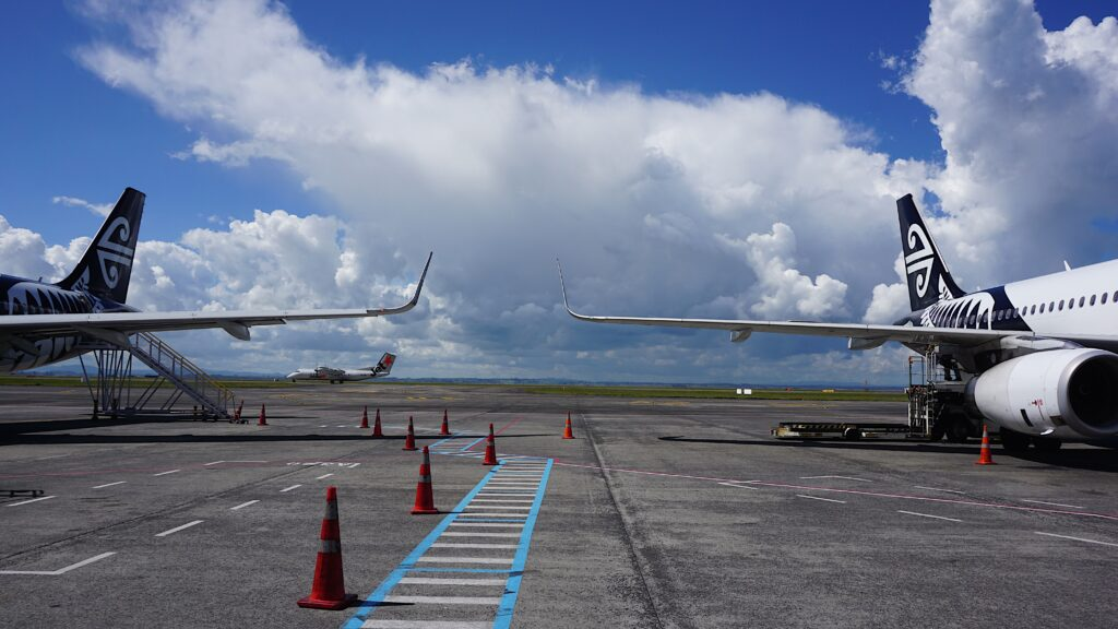 Auckland Airport runway project
