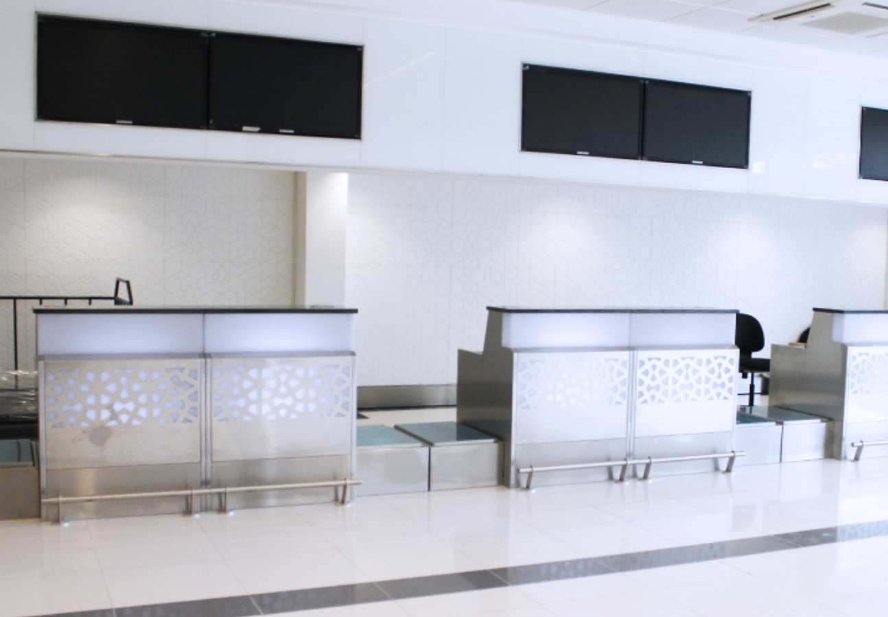 Over 200 counters supplied to Abu Dhabi International Airport