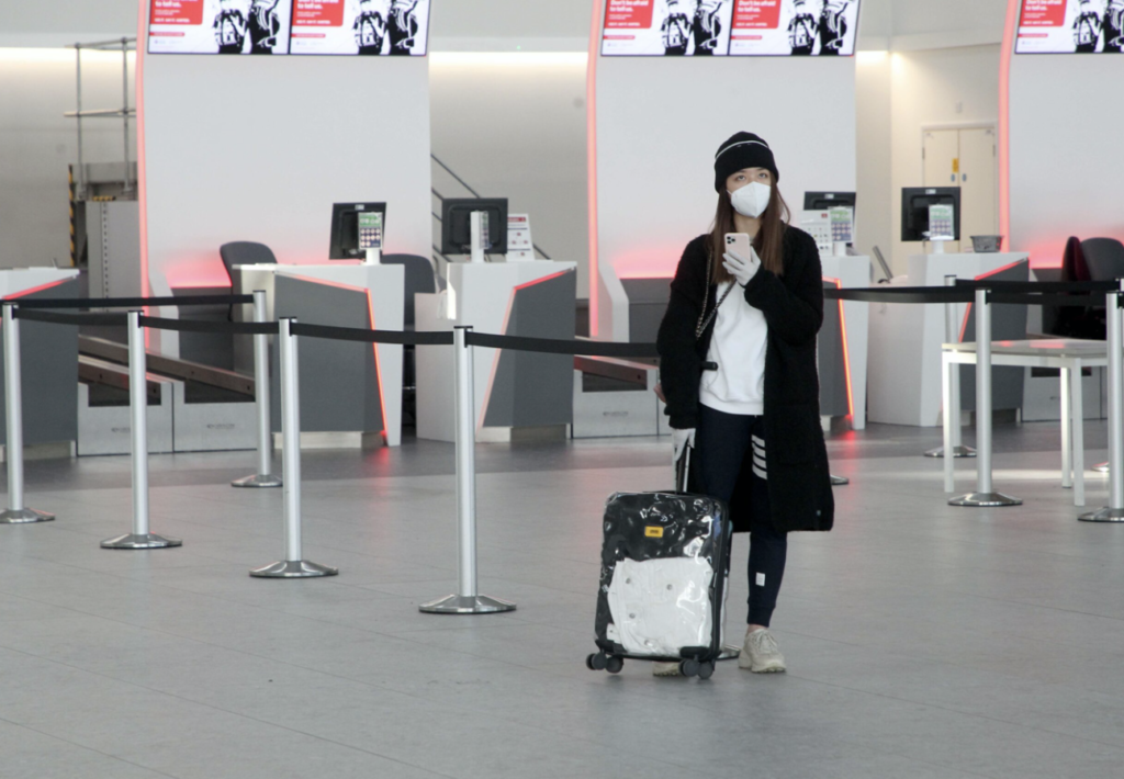 new stansted check-in gate technologies
