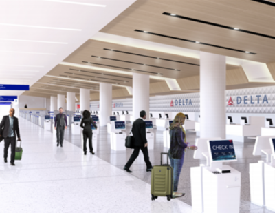 LAWA, Delta Accelerate LAX Terminal Transformation