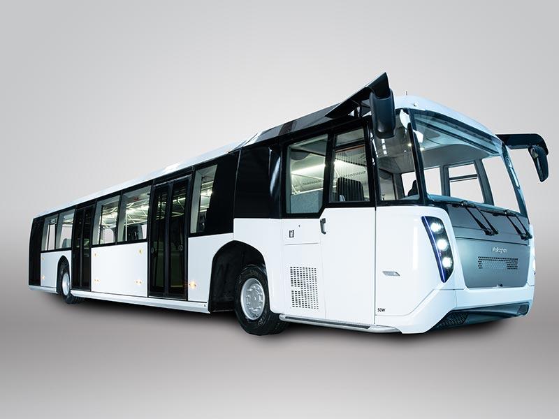 Árbus 50W 118 capacity passenger bus