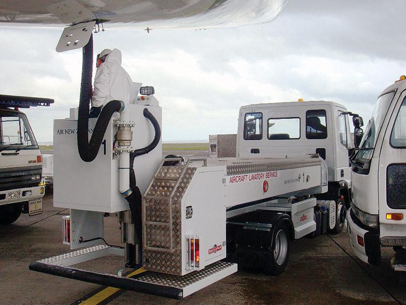 Toilet Service Trucks