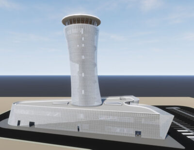 NACO | Airport Building Desgin project for Kuwait International Airport