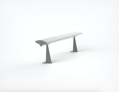 OMK | Seville – Continuous Bench with Floor Fixed leg