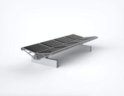 OMK | Trax Backless Bench with Moulded Polyurethane Pads