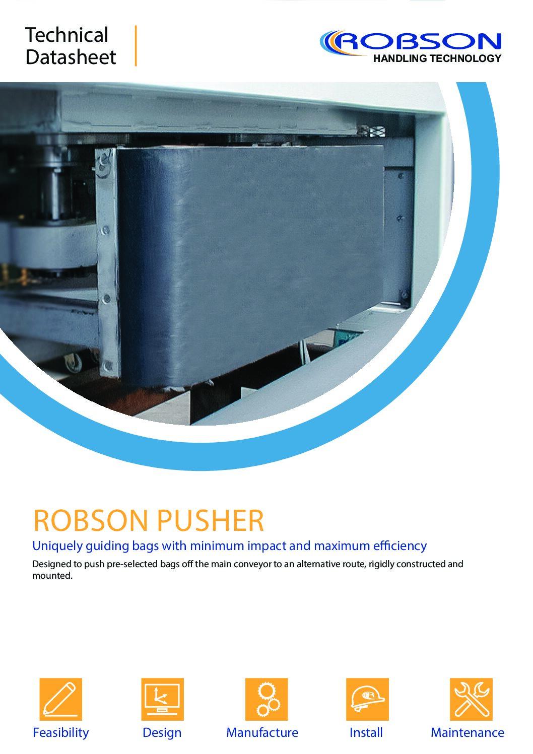 Robson Pusher Diverter