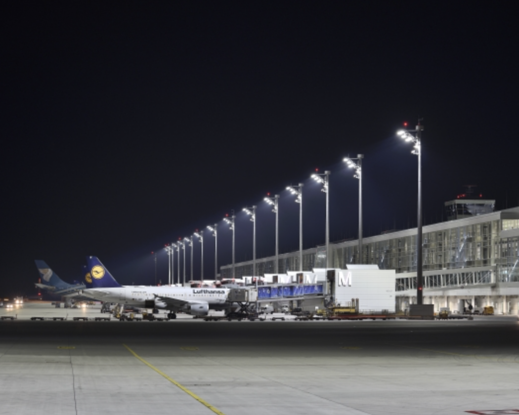 ewo's floodlights have contributed to 52% energy savings at Munich MUC