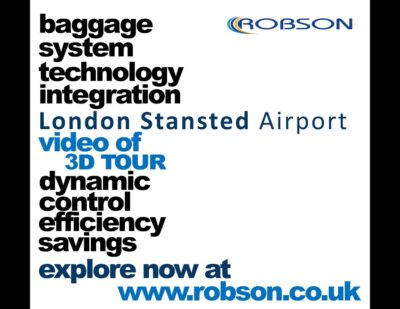 3D Tour Flythrough – Baggage System – London Stansted Airport