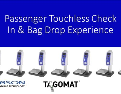 Passenger Touchless Check In & Bag Drop Experience – Tagomat®