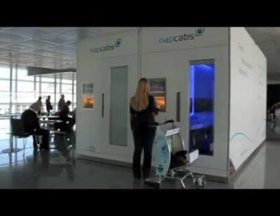 Four New Napcabs Sleeping Cabins at Munich Airport
