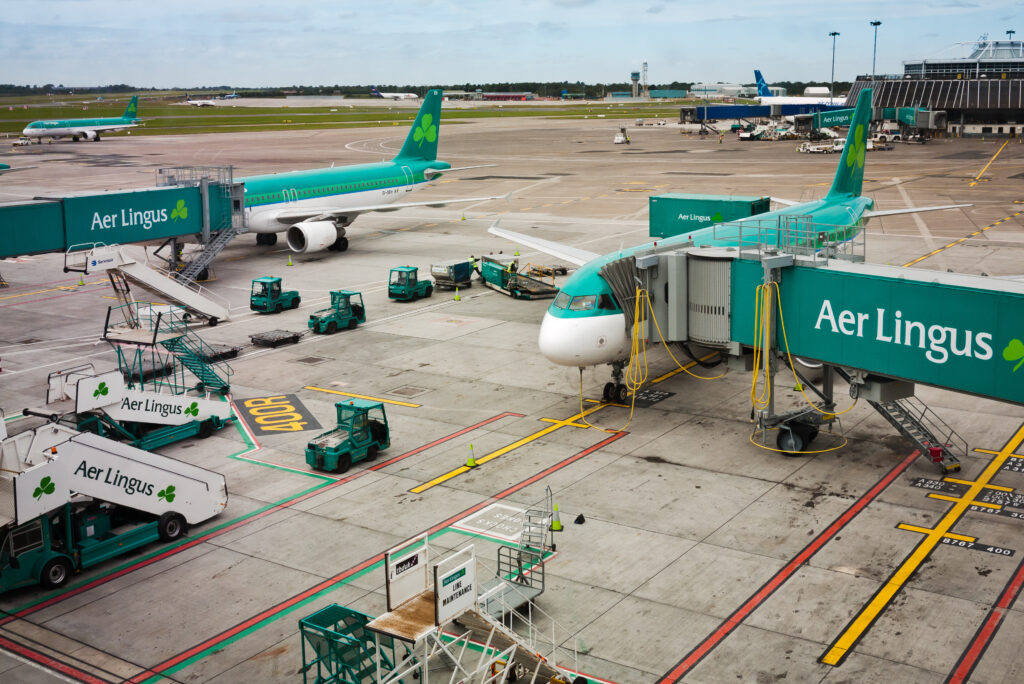 Dublin airport numbers down passenger drop