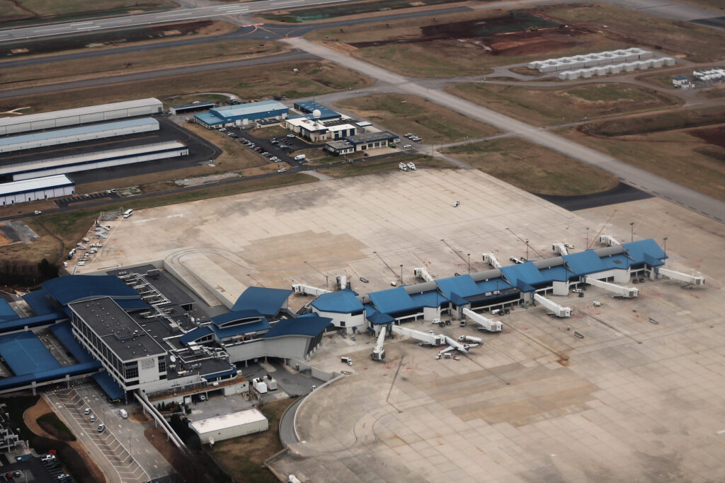huntsville completes taxiway