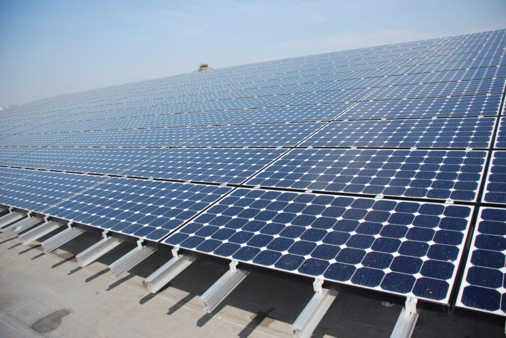 solar power JFK airport panels